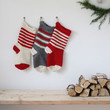 Traditional Knitted Christmas Stocking