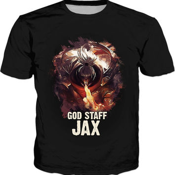 League of Legends GOD STAFF JAX