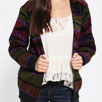 Urban Outfitters - Urban Renewal Crazy-Print Cardigan