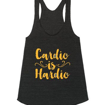 Stylish Tank Top - Cardio is Hardio