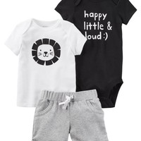 3-Piece Little Short Set