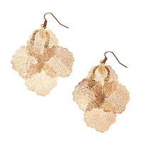 H&M - Leaf-shaped Earrings
