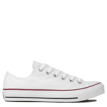 Converse Chuck Taylor All Star Classic Low Top Sneakers in Optic White