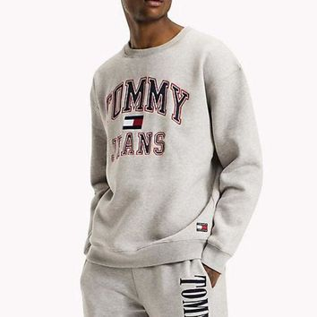 ONETOW Boys & Men Tommy Hilfiger Fashion Casual Top Sweater Pullover