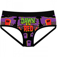 "Women's ""Dawn of the Red"" Period Panties by Harebrained!"