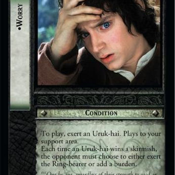 Lord of the Rings TCG - Worry - Fellowship of the Ring