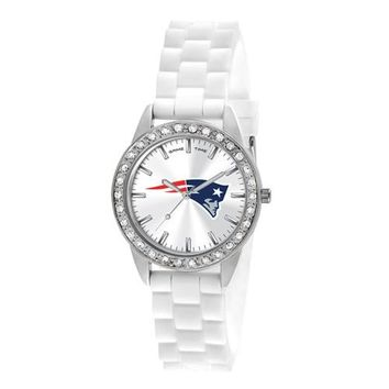 Ladies NFL New England Patriots Frost Watch