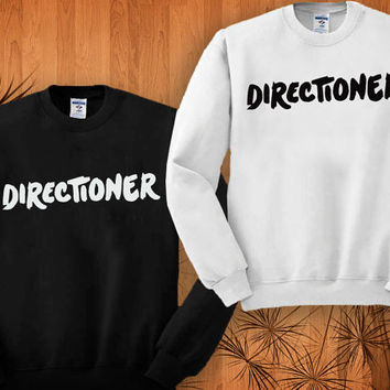 Directioner sweatshirt black and white size S - 3XL