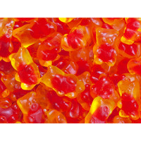 Jelly Filled Gummy Bears Candy: 3KG Bag