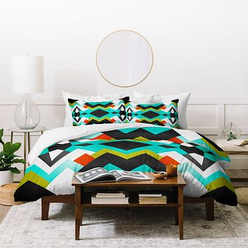 Elisabeth Fredriksson Distant Planet Pattern Duvet Cover