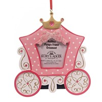 Personalized Ornament Princess Carriage Photo Frame Personalized Ornament