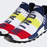 "Adidas HU NMD PHARRELL WILLIAMS x BBC ""HEART MIND"" Uk 10 In Hand"