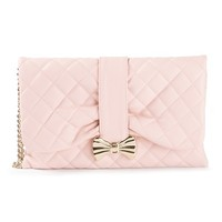 Red Valentino Quilted Clutch