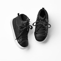 Gap Baby Perforated Hi Top Sneakers