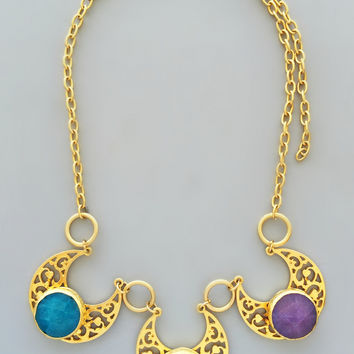The Sultana Necklace - 24K Gold Plated