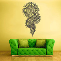 Wall Decal Naitive Sticker Decals Dream Catcher Dreamcatcher Maya Feather z1411