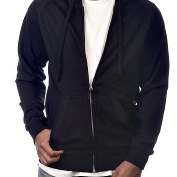 Cameron French Terry Hoodie in Black