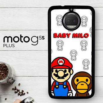 Baby Milo And Mario W4812  Motorola Moto G5S Plus Case