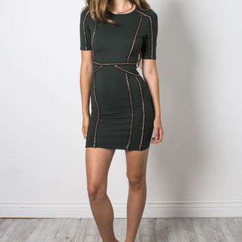 Wyldr Ballin Bodycon Dress