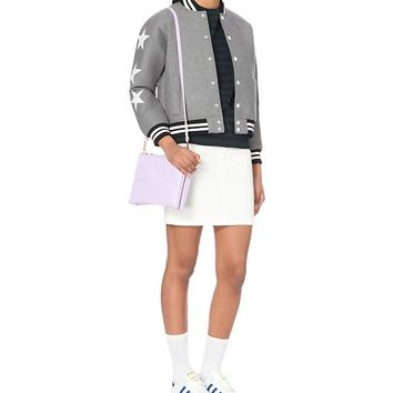CHOCOOLATE - Star wool-blend baseball jacket | Selfridges.com