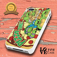 TMNT Turtles Ninja Pizza  for iphone, ipod, samsung galaxy, HTC and Nexus PHONE CASE