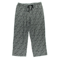Hue Womens Plus Cotton Animal Print Lounge Pants