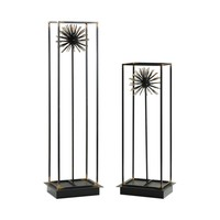 Flowering Dandelions Sculptures - Set of 2 by Uttermost