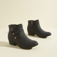 Subtle Specialty Ankle Bootie