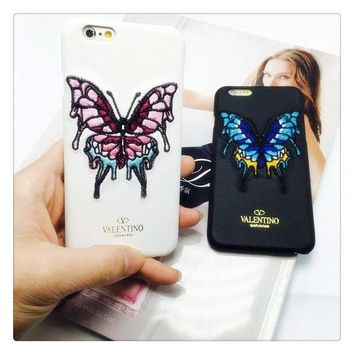 AMZZ5GR On Sale Iphone 6/6s Hot Sale Cute Hot Deal Stylish Star Butterfly Embroidery Apple Iphone Strong Character Couple Phone Case [8864220231]