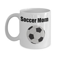 Soccer Mom Novelty Coffee Mug Cup Sports Mom Coffee Cup