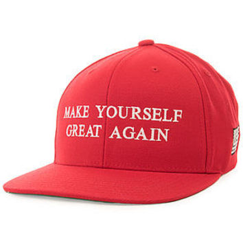 Make yourself great again (Red snapback)