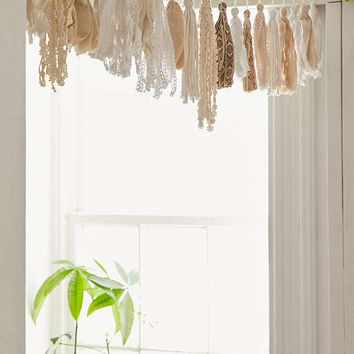 Plum & Bow Tassel Garland Banner - Urban Outfitters