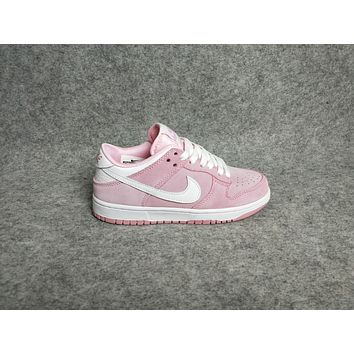 Nike Dunk Low gs Pink Women Sport Shoes Casual Sneakers