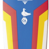 Dusters Bird Famoo Complete Skateboard 7x25 Blue/White/Red/Yellow