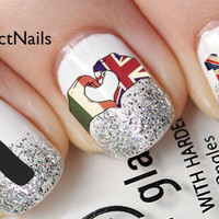 I Love 1D Nail Decals