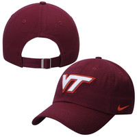 Virginia Tech Hokies Nike 3D Tailback Adjustable Performance Hat - Maroon