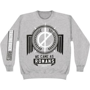 We Came As Romans Men's  Tracing Back Roots Sweatshirt Grey Rockabilia