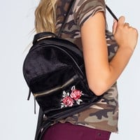 Payton Rose Backpack - Black