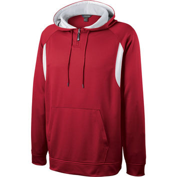 Holloway 229078 Affliction Hoodie - Scarlet White