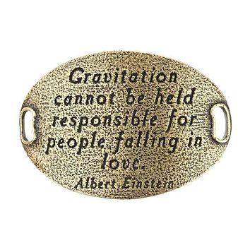 """Gravitation cannot be held responsible for people falling in love"" Lenny and Eva Trousseau Sentiment"