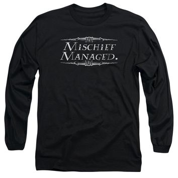 Harry Potter - Mischief Managed Long Sleeve Adult 18/1