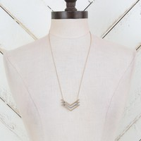 Altar'd State Slated Chevron Necklace | Altar'd State