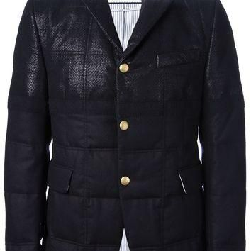 Moncler Gamme Bleu Coated Quilted Jacket