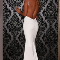 Celine Gown White
