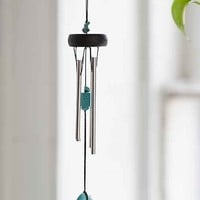 Woodstock Chimes Stone Chime- Turquoise One