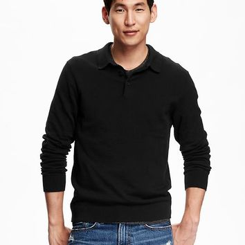 Old Navy Sweater Knit Polo