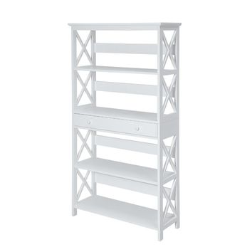 Gracelynn 5 Tier Standard Bookcase