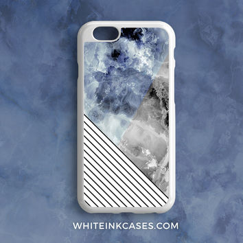 Handmade Marble Stripes iPhone Case