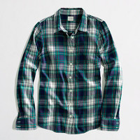 Factory classic button-down in flannel