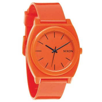 Nixon A119211 Unisex Time Teller P Orange Polycarbonate Orange Dial Quartz Watch